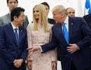 Con gái ông Trump bị chỉ trích vì cắt ngang cuộc trò chuyện của các lãnh đạo