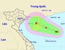 Vùng áp thấp trên biển đã mạnh lên thành áp thấp nhiệt đới
