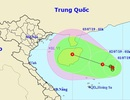 Xuất hiện vùng áp thấp trên Biển Đông có khả năng mạnh lên thành bão