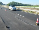 Cao tốc Đà Nẵng - Quảng Ngãi: Hết ổ gà lại đến thấm dột, lún