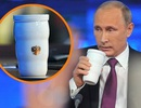 """""""Giải mã"""" chiếc cốc đặc biệt đi cùng ông Putin tới G20"""