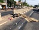 Bị xe tải tông, ông bà chết thảm, cháu 7 tuổi trọng thương