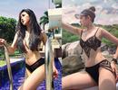 """Vóc dáng """"bốc lửa"""" của chân dài Quảng Bình mới nổi trên Instagram"""