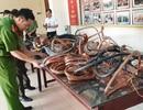 Bắt thợ cơ khí cắt trộm dây điện tại 13 trạm biến áp để bán đồng nát