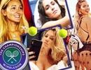Ngắm những bóng hồng xinh đẹp, quyến rũ tại giải Wimbledon