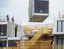 """Xây dựng nhà kiểu mới với phương pháp """"đúc sẵn"""" giống như xếp hình Lego"""