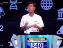 """Nam sinh Thái Bình """"rất nhanh, rất nguy hiểm"""" chiến thắng cuộc thi Tuần Olympia"""