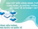 Sau cột mốc nâng băng thông, cùng nhìn lại những thống kê bất ngờ về Internet Viettel