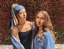 """Nếu nàng Mona Lisa và """"cô gái đeo khuyên ngọc trai"""" chơi với nhau trong... thời hiện tại"""