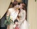 Biểu cảm đáng yêu của con trai Thu Thủy trong hôn lễ của mẹ