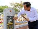 """Bộ trưởng Đào Ngọc Dung: """"Không yên lòng khi nhiều liệt sĩ chưa tìm được hài cốt..."""""""