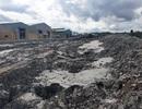 Hồ chứa nước thải bị vỡ, lãnh đạo doanh nghiệp đổ do… mưa lớn!