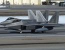 """Video phi công Mỹ diễn tập """"ghế nóng"""" trên máy bay chiến đấu F-22"""