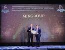 MIKGroup bội thu giải thưởng tại Dot Property Vietnam Awards 2019