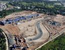 Những đoạn đường đua F1 đầu tiên tại Hà Nội đã thành hình