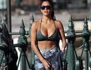Nicole Scherzinger bốc lửa đi tập thể dục