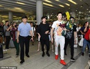"""""""Kình ngư"""" Sun Yang được chào đón như người hùng khi trở về quê nhà"""