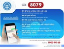 Tra cứu thông tin BHXH, BHYT qua đầu số 8079