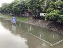 Hà Nội tiếp tục mở cửa xả nước từ hồ Tây ra sông Tô Lịch
