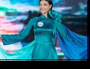 Thí sinh hoa hậu thế giới Việt Nam nền nã với áo dài