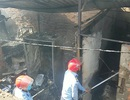 Cháy lớn 5 phòng trọ thiêu rụi nhiều tài sản của công nhân