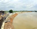 Hà Nội gấp rút hoàn thiện đê bê tông ngăn lũ sông Bùi đe dọa nội thành