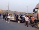 Ban hành cáo trạng vụ xe container đâm Innova đi lùi trên cao tốc