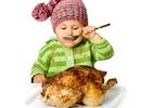 Những lưu ý cần thiết khi cho con ăn thịt gà