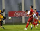 Martin Lo nhạt nhòa trong trận đấu tập nội bộ của U22 Việt Nam