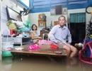 Hàng trăm hộ dân trên đảo Phú Quốc chìm trong biển nước khắc khoải chờ cứu trợ