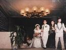 """Đám cưới đại gia thập niên 90: Cô dâu thay 4 bộ váy, rước dâu bằng dàn """"siêu xe"""""""