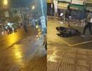 Hai nhóm thanh niên chém nhau kinh hoàng giữa trung tâm Sài Gòn