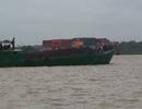 Công an nổ súng vây bắt 4 thuyền bơm hút, vận chuyển cát trái phép