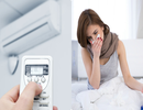 Những căn bệnh do máy lạnh gây ra