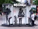Giới trẻ sài thành xôn xao bởi sự xuất hiện của ma-nơ-canh khoác bụi lên người ở phố đi bộ Nguyễn Huệ