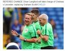 Sự cố trọng tài hy hữu ở trận đấu Chelsea - Leicester
