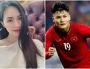 """""""Bạn gái tin đồn"""" lên tiếng về chuyện tình cảm với Quang Hải"""