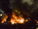200 cảnh sát, 35 phương tiện, lực lượng 5 phường cùng dập vụ cháy kinh hoàng