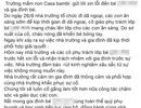 Hà Nội: Bé 3 tuổi bị bỏng cháo ở trường Mầm non quốc tế Montessori Xuân Mai