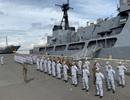 Tàu chiến, máy bay sẵn sàng tham gia diễn tập hàng hải ASEAN - Mỹ đầu tiên