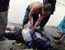 Đâm xe vào cống ven đường, người đàn ông bị nước cuốn tử vong