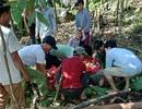 Đi bóc quế gặp sạt lở đất, 1 người chết, 3 người bị thương