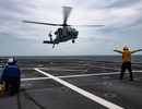 Những hình ảnh đầu tiên về diễn tập hàng hải Mỹ - ASEAN