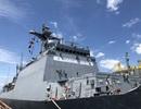 Tàu huấn luyện hải quân Hàn Quốc thăm xã giao Đà Nẵng
