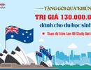 """Tặng gói quà """"khủng"""" 130 triệu đồng cho học sinh nộp hồ sơ du học Úc tại triển lãm Study World"""