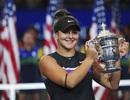 Đánh bại Serena Williams, tay vợt 19 tuổi vô địch US Open 2019
