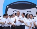 """Phó Thủ tướng cùng hàng nghìn người xuống đường vận động """"đội mũ bảo hiểm cho trẻ em"""""""