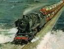 Công trình trên biển vĩ đại: Chuyến tàu hỏa chạy giữa biển khơi