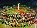 Lần đầu tiên có màn Đại Xoè lớn nhất thế giới trong Lễ hội Mường Lò