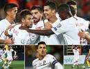 C.Ronaldo ghi 4 bàn, Bồ Đào Nha đại thắng ở vòng loại Euro 2020